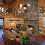Hearthstone Log And Timber Frame Homes Lake Haven Model