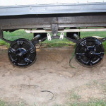 Here Are The New Axles Installed Brand Leaf Springs And