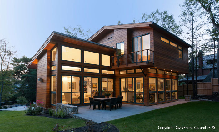 Here Rear Shot Our Client Suburban Boston Home That Utilized