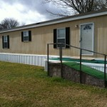 Home Can Stay Parked Senior Mobile Park Located Carencro