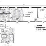 Home For Sale Mobile Manufactured Floor Plan