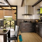 Home Furniture Green Kitchen Interior And