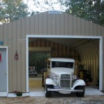 Home Garage Bright Color Paint Make Your Prefab Looks