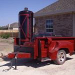 Home Made Trailer Smoker For Cheap Dress The Mount