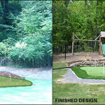 Home Putting Green Design