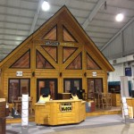 Home Show Season Here And Timber Block Insulated Log Homes