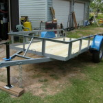 Homemade Utility Trailer The Garage Journal Board