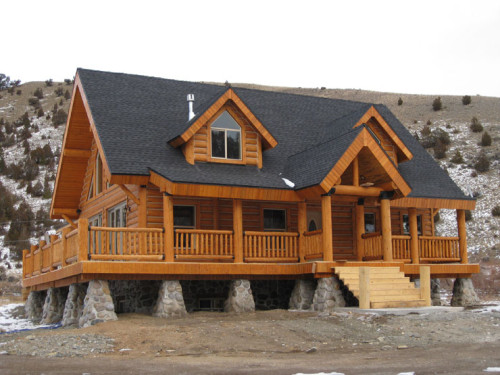 Homes Affordable Log Home Dealers Insulated Kits