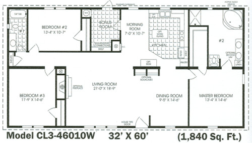 Homes Floor Plans Additional Mobile Home And Manufactured