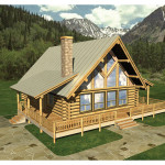 House Plans Mountain Home Rustic Vacation