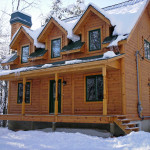 How Much Does Timber Block Log Home Cost Cabin Timberblock