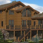 Hudson Log Home Floor Plan Modification