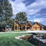Huge Log Homes The Big Creek Action Dream Home