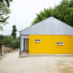 Humanitarian Low Cost House Shipping Container Rooms Springs