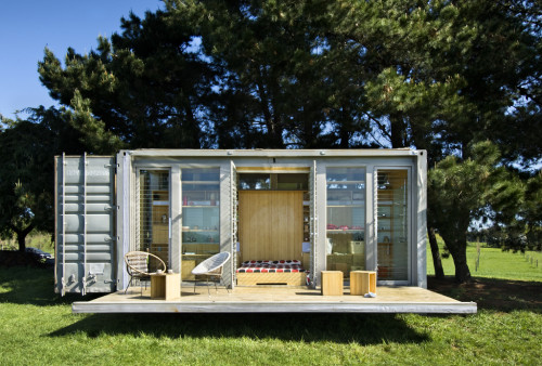 Humble Homes Mobile Transforming Shipping Container House