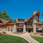Hybrid Home Wisconsin Log Homes Blog Precisioncraft