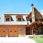 Hybrid Log And Timber Homes Pocatello Home