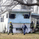 Injuries Reported Mobile Home Fire Bethlehem Township