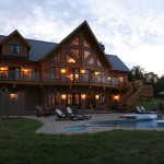 Insulated Log Cabins Timber Block Home Shows And