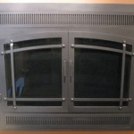 Iron Reface Door For Pre Fab Fireplace Premium Bar