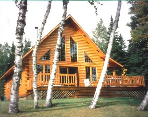 Islander Log Cabin Kits