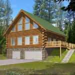 Ivy Hill Rustic Log Home Plan House Plans And More