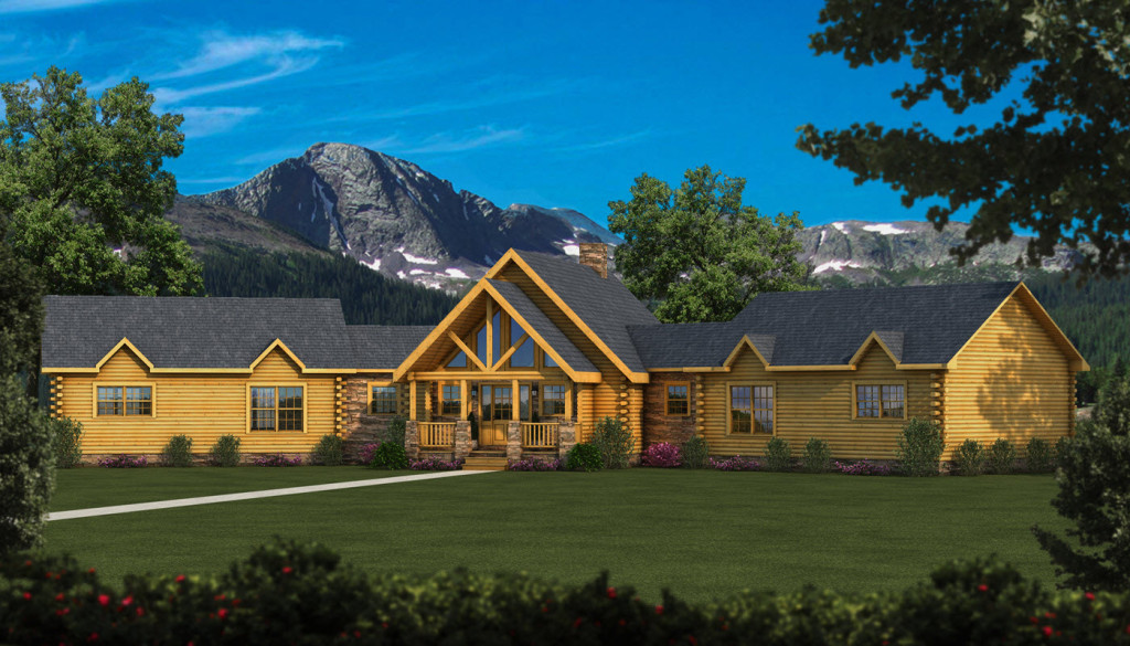 Jackson Log Home Cabin Plans Southland Homes