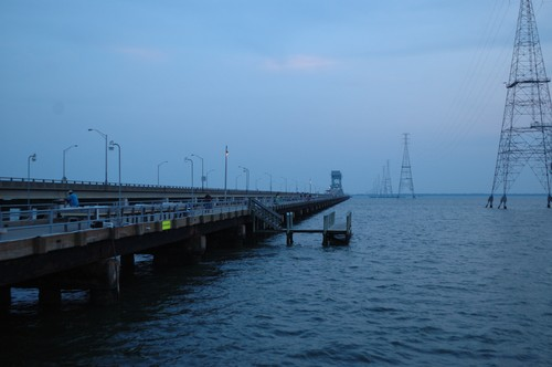 James River Fishing Pier And Bridge Newport News