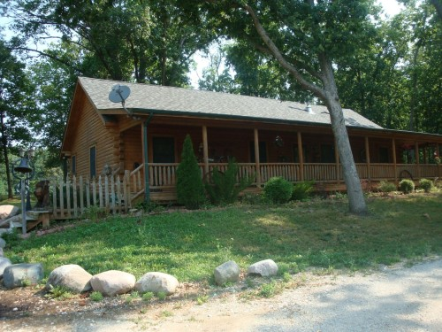 Just Listed Log Home For Sale Lafayette Indiana Acres