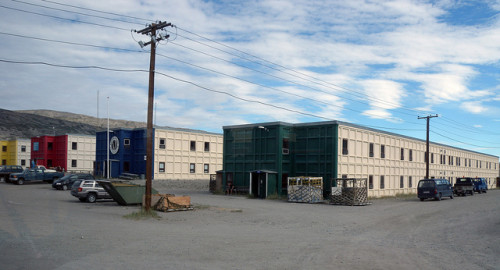 Kangerlussuaq Prefab Military Buildings Flickr Sharing