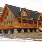 Kit Log Homes Assembling Panelized Home Kits