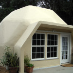 Kit Panelized Prefab Eco Cottage Dome Steel And Cement