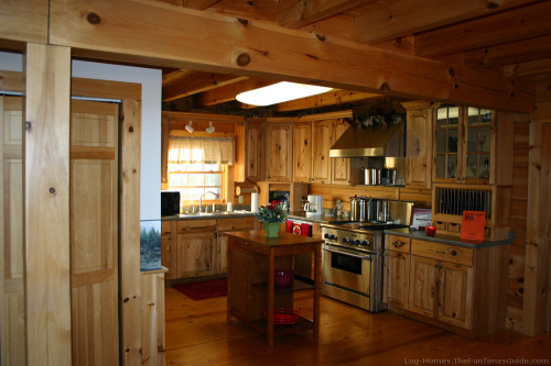 Kitchen Cabinets For Your Log Home The Fun Times Guide Homes