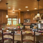 Kitchen Dining Area Expedition Log Homes Dream Home