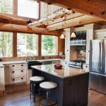 Kitchen Ideas For Log Homes Traditional
