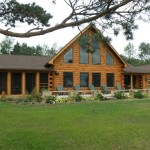Kits And Manufactured White Pine Cedar Log Homes Cabins