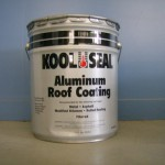 Kool Seal Economy Aluminum Roof Coating For Mobile Home Roofs