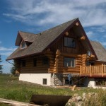 Ladder Lake Log Homes Inc Home