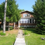 Lake Five Log Home For Sale Northern Wisconsin Chequamegon