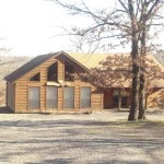 Lakefront Log Home Gibson Lake Dock Hulbert Oklahoma
