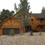 Lakefront Log Style Home For Sale