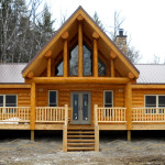 Lakeside Log Home Mission Creek Homes
