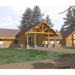 Lakesite Luxury Log Home Plan House Plans And More