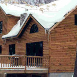 Lap And Other Tongue Groove Sidings Giving True Log Home Look