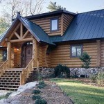Largest Log Cabin Homes Upper Peninsula Michigan
