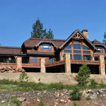 Laurette Chateau Timber Frame Exterior