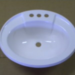 Lavatory Sinks Oval Plastic Sink For Mobile Homes