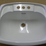 Lavatory Sinks Plastic Rectangular Sink For Mobile Homes