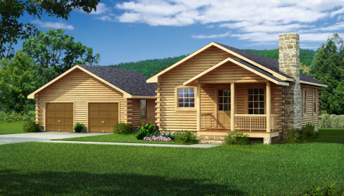Lee Log Home Cabin Plans Southland Homes