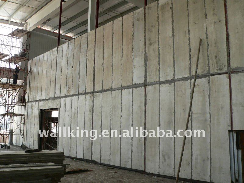 Light Prefabricated Interior Wall Panel System View